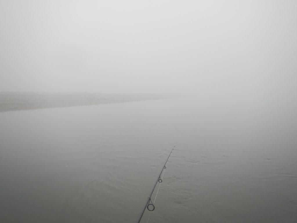 Pescando nella nebbia...