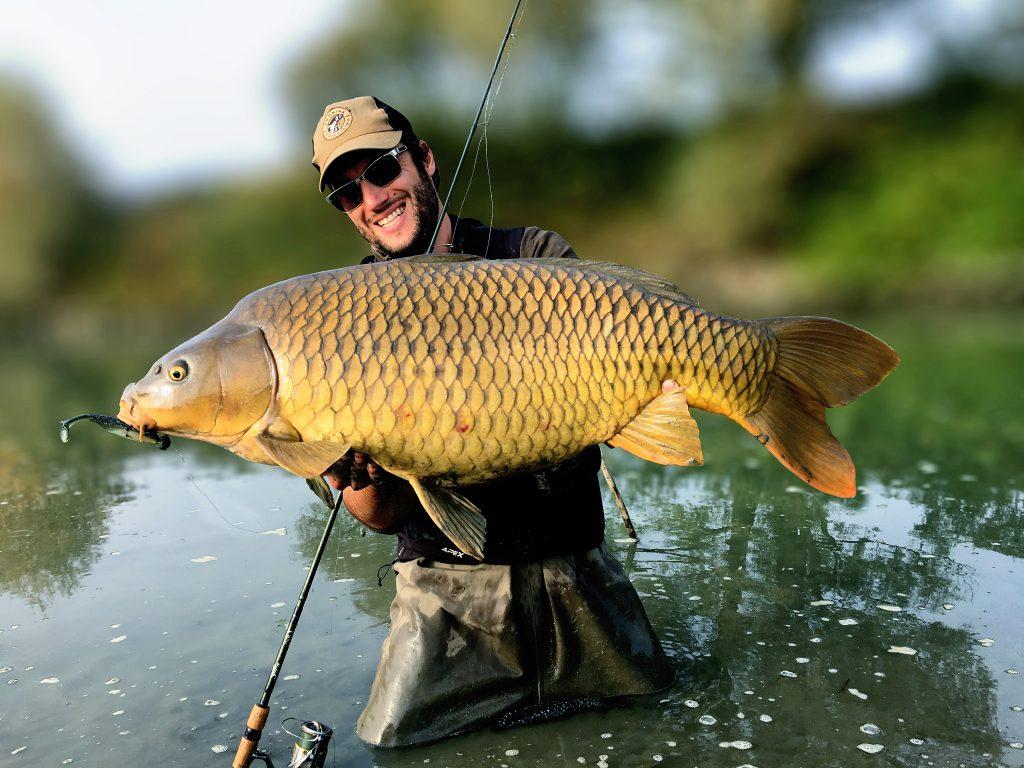 Pietro Invernizzi Carpa record big carp spinning