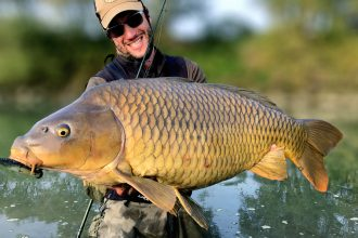 Pietro Invernizzi Carpa record big carp spinning
