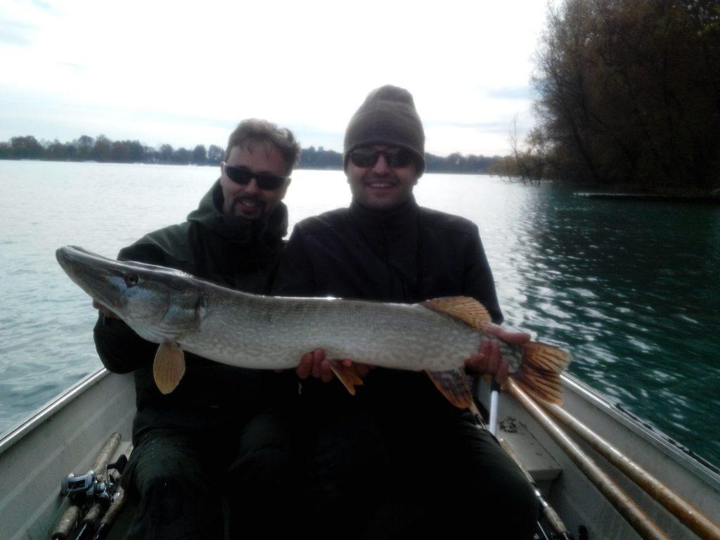 Luccio 93cm!!! Best catch!