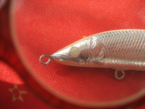 Detail of a Pux Handcraft Lure