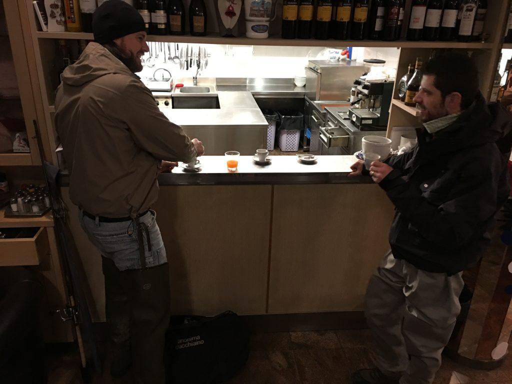 Caffè alle 6.20 am in hotel :-)