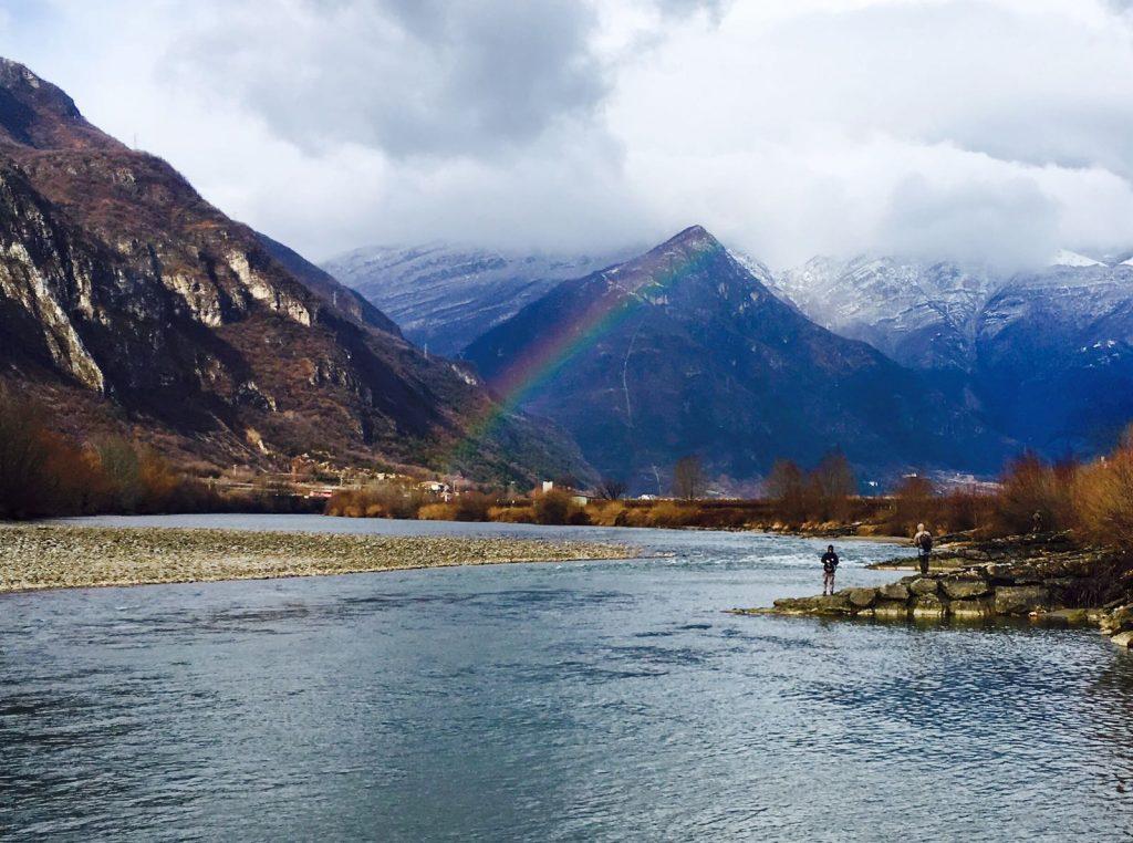 Paesaggio dell'Adige, Febbraio 2017