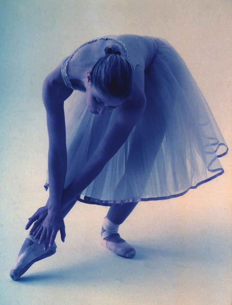 Marica Cicoria in versione ballerina classica