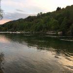 Bellezza del fiume all'alba!
