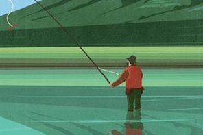 A pesca nelle pozze più profonde