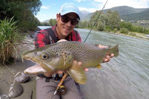 Intervista ad Alessandro Negri per il lancio di Alpsflyfishing.com