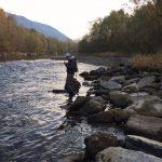 Ale Negri sul fiume