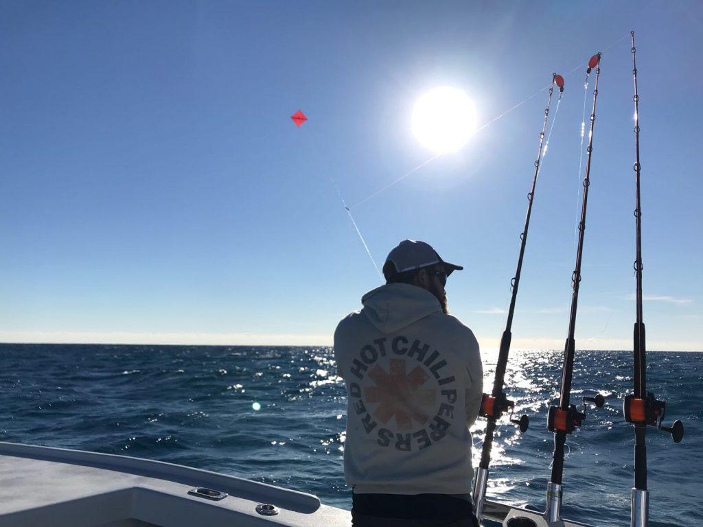 kite fishing in Miami