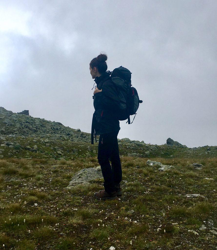 Valeria D'Ambrosio trekking