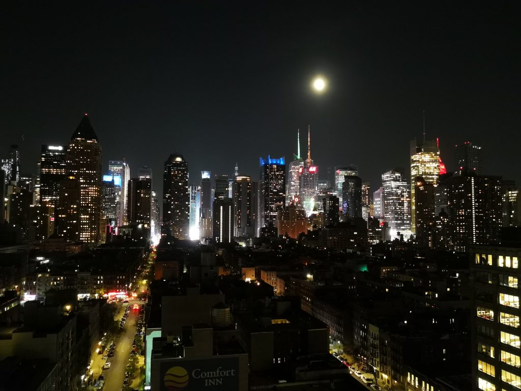 New York by night, vista insolita...