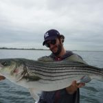 Striped bass big record fishing pietro invernizzi
