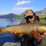 Big brown lake trout Pietro Invernizzi