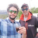 Pietro, Fabio e caffè di moka degli amici francesi! Merci