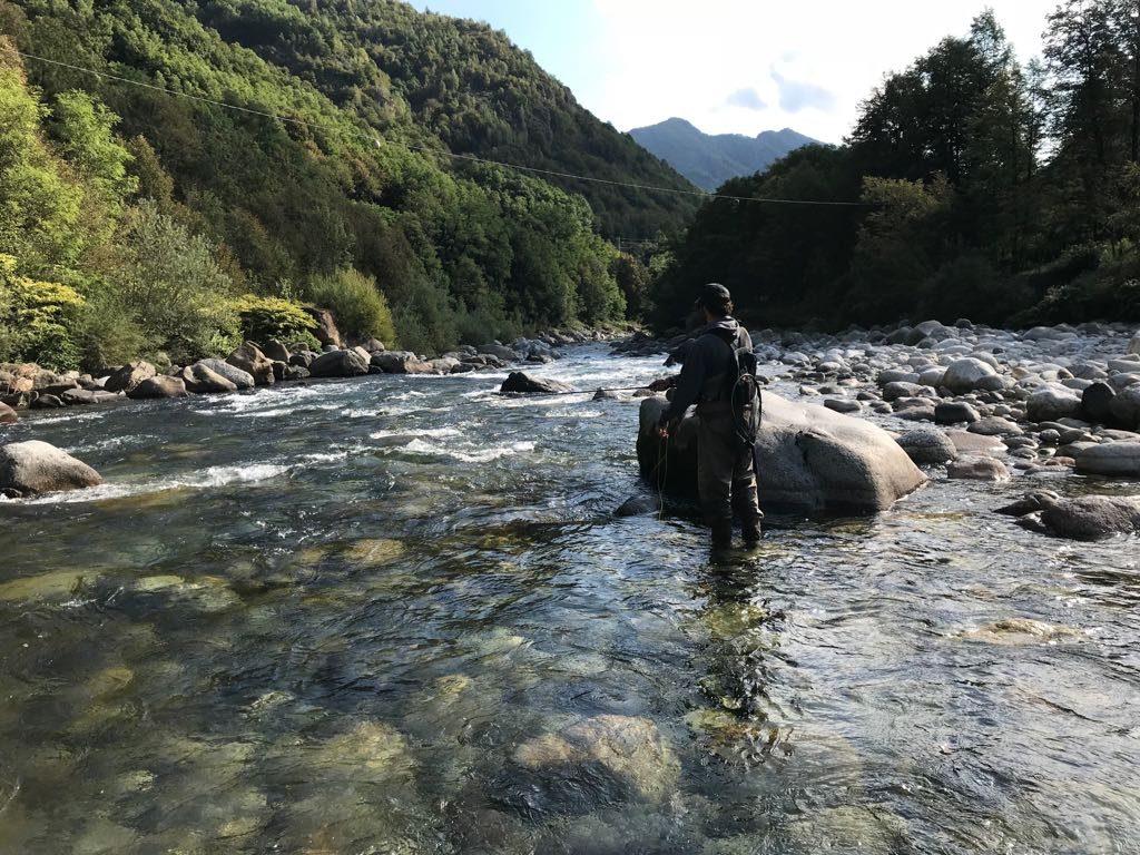 Paesaggi della Valsesia offerti al pescatore