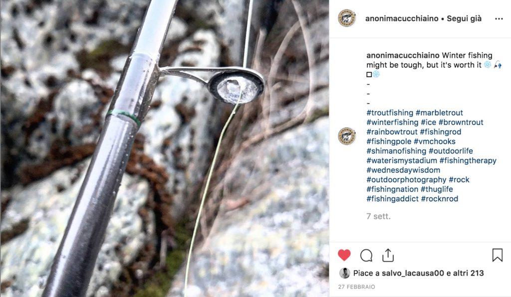 Dal nostro profilo Instagram... cronache ghiacciate dall'apertura