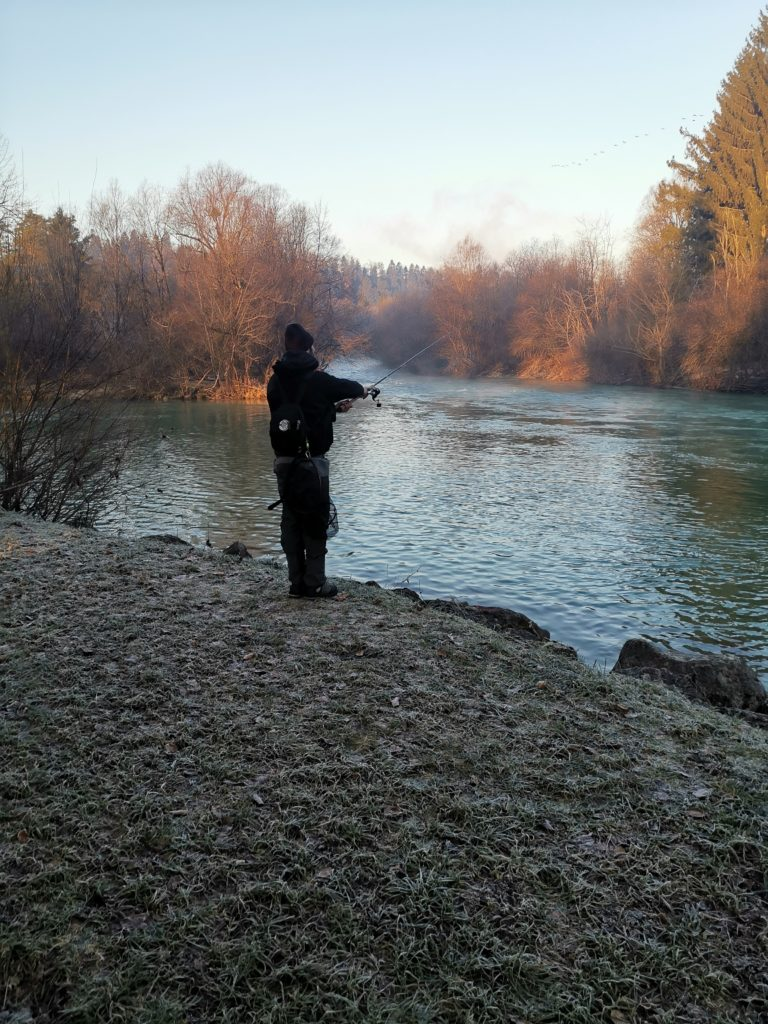 Fishing Sava River