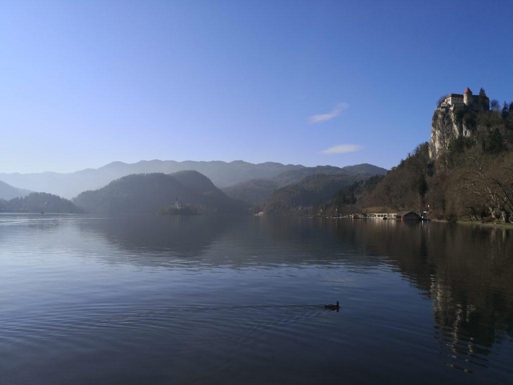 Bled Lake, Slovenia, landscape