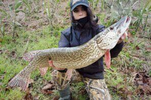 Valentina Segatto, la rocker della pesca a spinning