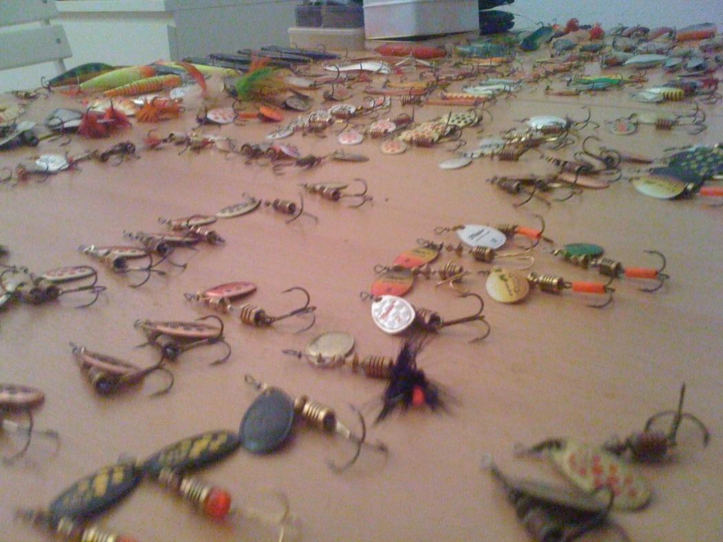 rotanti pronti per l'apertura della stagione trota 2011