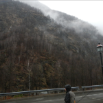 Jacopo, montagna e bruma