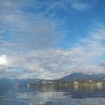 riflessi e nuvole