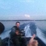 Flying Fishing Boat!