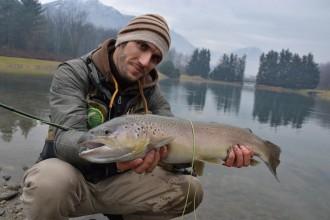 Grande Trota Fario - pesca a mosca - Pietro Invernizzi