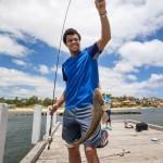 le joueur de tennis Jo-Wilfried Tsonga est friands de pêche. le joueur de tennis Jo-Wilfried Tsonga est un pêcheur - celebs celebrities fishing personaggi famosi a pesca pescatori famosi amanti della pesca