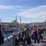Pescatori dal ponte di Galata istanbul