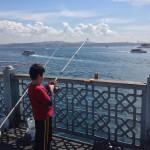 Pescatori dal ponte di Galata i