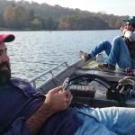 Assetto di pesca rilassato per Francis e Frank