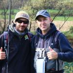 Nik e Caki, due guide di pesca!