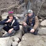 Pietro & Francis - cigarillo e sizza
