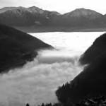 Nebbie sul Lago Maggiore
