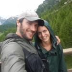 Novelli sposi sotto la pioggia!