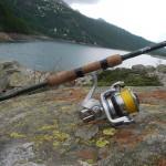 Lago Devero e NRX GLoomis