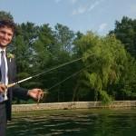 Sposo in pesca!