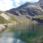 Lago, sole, montagna