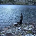 Jaco in pesca al tramonto