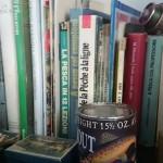 Letture impegnate... Una parte della libreria alieutica