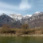 Paesaggio sull'Adige