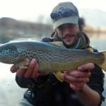 Pietro e trota del weekend in Adige