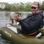 Pietro e un bel luccio denmark fishing lodge catch outdoors