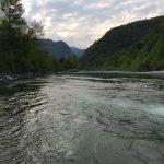 La bellezza del fiume Sesia ad Aprile