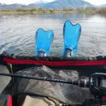 Combo casting e belly boat action
