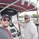 Pietro & Capt. Arthur Cortes