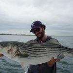 Striped bass big record fishing pietro invernizzi