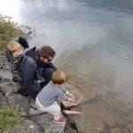 Morgan's fishing family!