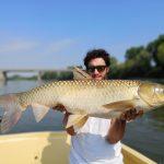 Carpa Amur pesca spinning Pietro Invernizzi record big carp